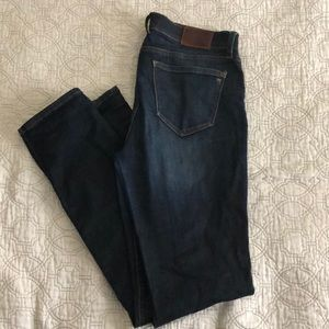 Madewell alley straight jeans 29